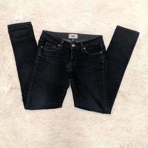 Dark wash Paige jeans skinny
